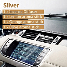 GUILDFORD Air Freshener Car-styling Aluminium Alloy Perfume Car Incense Diffuser Air Freshener Vent Air Conditioning Clip