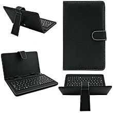 10.1 Inch Leather Case Cover USB Keyboard For Android Windows Tablet