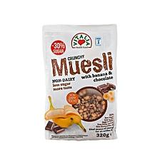 Crunchy Muesli Chocolate/Banana  - 320g