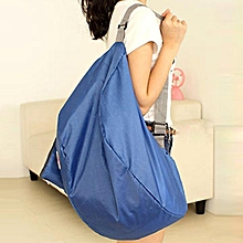 Women Travel Bags Large Capacity Luggage Bags-Blue