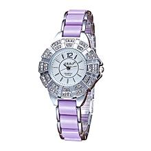 guoaivo SBAO Fashion High - end Watches Diamond Bracelet Watch Women 's Watches - Multicolor D