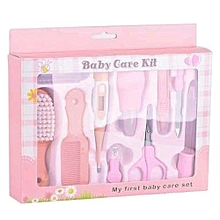 Elegant portable Baby Grooming Nursery care Healthy Kit - Pink