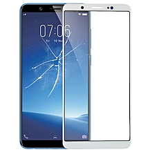 Front Screen Outer Glass Lens for Vivo Y75 / V7(White)