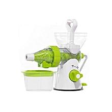 MultiFunction Meat Mincer / Fruits Juicer - White & Green