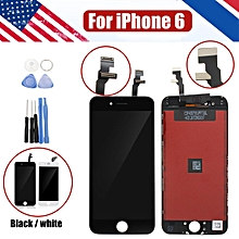 """LCD Display Touch Screen Assembly Digitizer Replacement For iPhone 6 4.7"""" +Tools Black"""