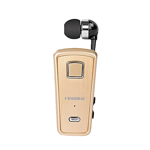 46701feb06f Fineblue F980 Clip-on Bluetooth 4.0 Headphones Cable Retractable Earphone  Stereo Music Headsets Vibration Alert
