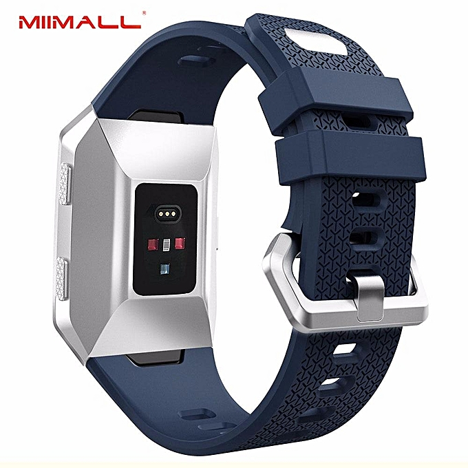 98fe952ef Fitbit Ionic Strap, Soft Silicone Strap Adjustable Replacement Sport Band  Accessories for Fitbit Ionic Smart