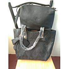 2 in 1 shoulder handbag