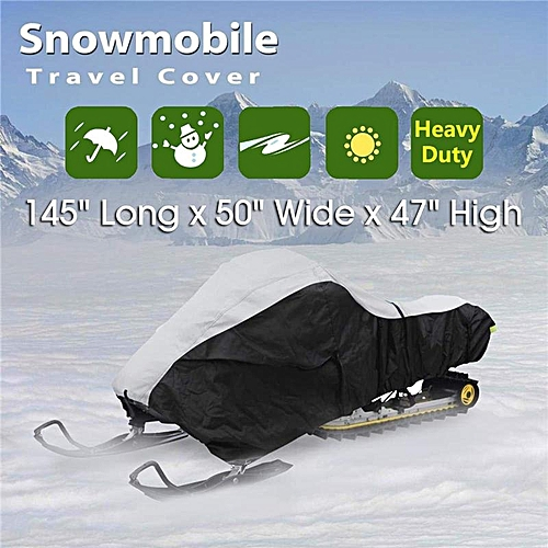 Budge Sportsman Snowmobile Cover Fits Snowmobiles 130 Long x 51 Wide x 48 High SM-3