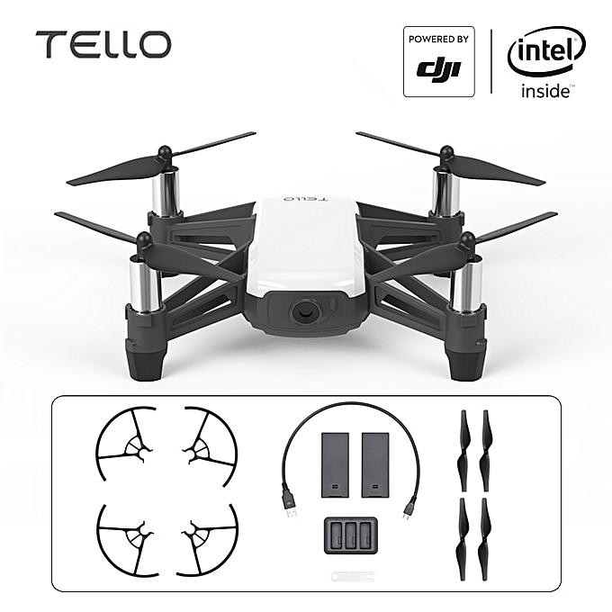 DJI Tello Drone Mini Toy Drone Camera Drone with Coding Education 720P HD  Transmission Quadcopter FPV Remote Control