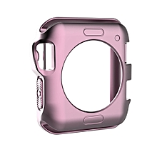 TPU Protective Case for Apple Watch Series 3 & 2 & 1 42mm(Rose Gold)