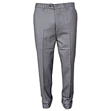 Official Trouser Pant - Grey - Slim Fit Straight