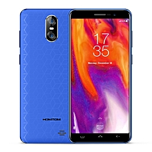 S12 3G Smartphone 5.0 inch Android 6.0 MTK6580 Quad Core 1GB RAM 8GB ROM 8MP + 2MP Dual Rear Cameras - BLUE