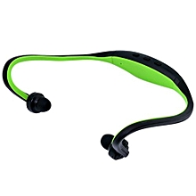 S9 Sport Wireless Bluetooth 3.0 Earphone Headphones Headset For Iphone 6/5/4 Galaxy S5/S4/3 IOS/Android With Microphone Green
