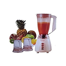 3 in 1  Signature Blender with Grinder -Cream- 1.5 Litres