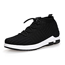 Grace Men's breathable fashion wild flying woven sneakers