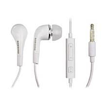 Wired Stereo Earphone For Samsung Galaxy S4 - White