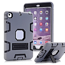 For IPad Mini -2 -3 Dual Layer Hybrid Armor Protective Stand Cover Case