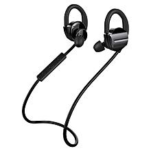 H3 Bluetooth Headphones Wireless Sports Earphones Stereo Earbuds Sweatproof In-ear Headsets for Running Sports - Black