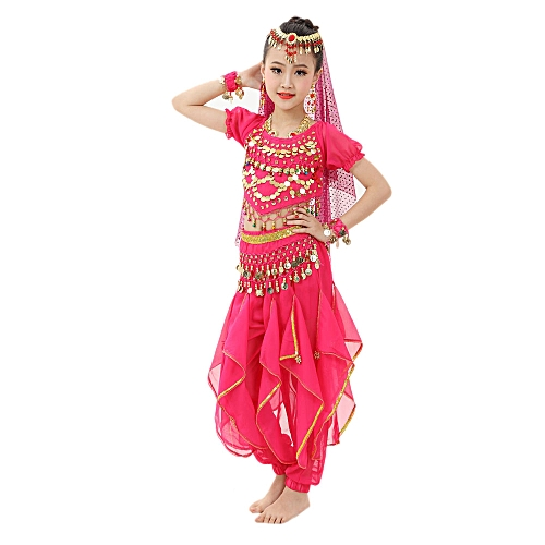 f21f427a9e11 MUYI Handmade Children Girl Belly Dance Costumes Kids Belly Dancing ...