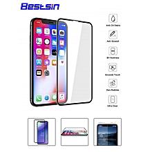 iPhone XS/XS Plus/X/8/8 Plus/7/7 Plus/6S/6S Plus/6/6 Plus Screen Protector Anti-Scratch Ultra-Clear Tempered Glass Film    IPHONE 8 PLUS    black
