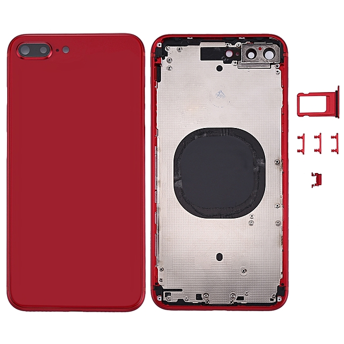 sneakers for cheap c18bb 1226d Back Housing Cover for iPhone 8 Plus (Red)