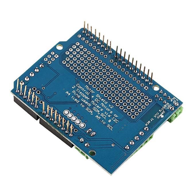 OR Blue Motor/Stepper/Servo/Robot Shield For Arduino v2 with PWM Driver