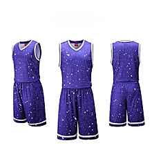 Brand Customized Blank Youth Men's Basketball Team Sports Uniform-Purple(3020)