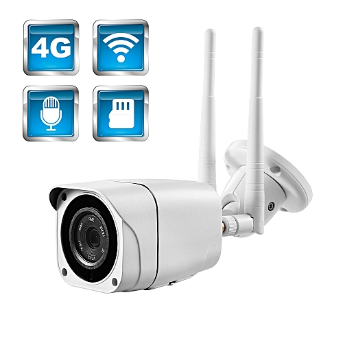 BFMore 3G 4G IP Camera Audio Wireless 1080P 2MP H 264 Sony CCTV Cam Outdoor  TF SD Card Security Video Surveilence Monitor Camhi(With 64G Card)