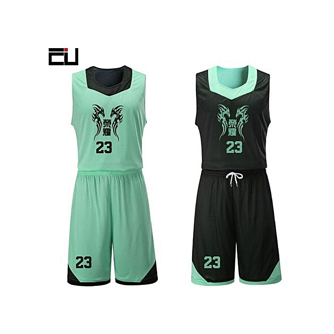 ... Double Side Men s Customized Team Basketball Sport Jersey Uniform-Black  White(XYH-3028 ... 41ab70483