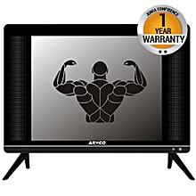 "LED-TZ17H1DC - 17"" - Digital LED TV - HD Ready - Extra Tough Screen - Extreme Slim- USB Movies - AC/DC -  Black"