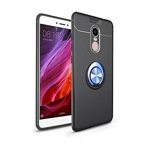 half off 33bb9 b449c For Xiaomi Redmi Note4X Phone Case Funda Cases Ring Holder Car Magnet  Silicon Back Cover For Xiaomi Redmi Note 4X Coque (…)