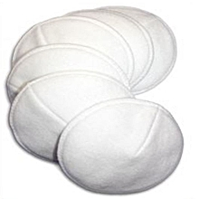 A Set Layers Soft Breathable Washable Anti Overflow  Breastfeeding Nursing Pads