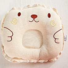 Color Cotton Embroider Infant Baby Pillow for Head Shape - Colormix