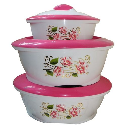 Famous 3 Piece Hot Pot Food Server Insulated Jumbo Casserole Gift ...