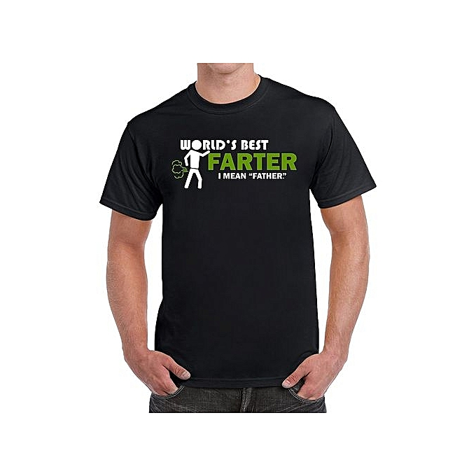 0526c3c8 World's Best Farter I Mean Father Funny Gifts For Dad Birthday Anniversary Gifts  Men T-