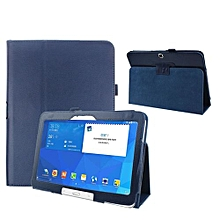 Folio Leather Case Cover For Samsung Galaxy Tab 4 10.1&#39 SM-T530 Tablet D BU