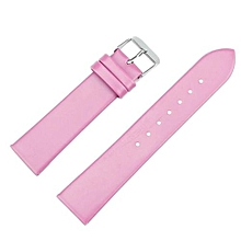 Technologg Watch  20mm Women Fashion Leather Watch Strap Watch Band PK-Pink