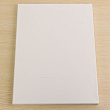 White Blank Square Canvas Board Wooden Frame For Art Artist Oil Acrylic Paints 30x40cm