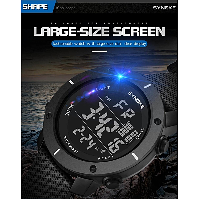 2018 Fashion Waterproof Children Kids Boy Watches Digital Led Quartz Date Sports Electronic Quartz Wrist Watch Dropship Watches