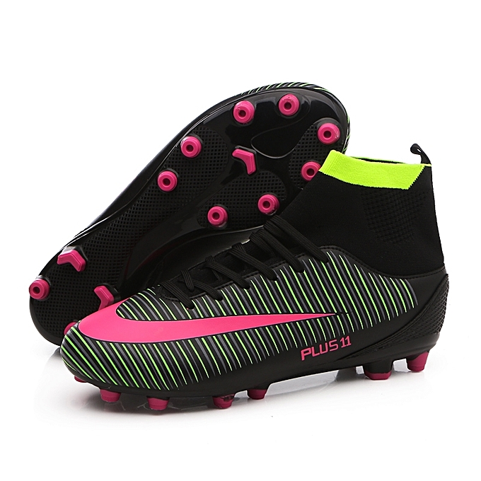 0737a23d5 Men Soccer Shoes Football Boots Soccer Cleats Boot Shoes Sports Shoes  Outdoor Indoor Soccer Training Shoes