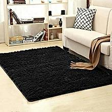 Fluffy Carpet - 7*10 - Black Extremely comfortable carpet