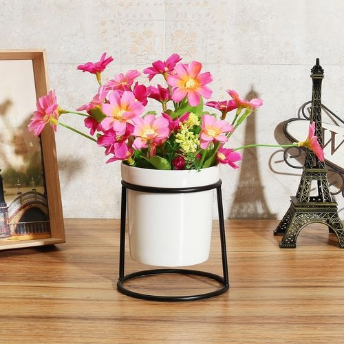 Jumia Kenya & Metal Plant Stand Flower Pots Shelves Rack Holder Iron Frame Ceramic Vase Decor