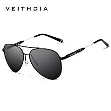 a2b9751a50e6 VEITHDIA Brand Designer Sun Glasses Men  039 s Polarized Vintage Sunglasses  Oculos Male Eyewear
