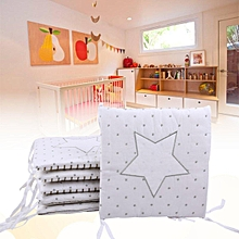 Baby Infant Cot Crib Bumper Safety Protector Toddler Nursery Bedding