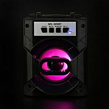 LED Bluetooth Wireless Portable Sport Speaker Super BassWith USB/TF/AUX/FM Radio