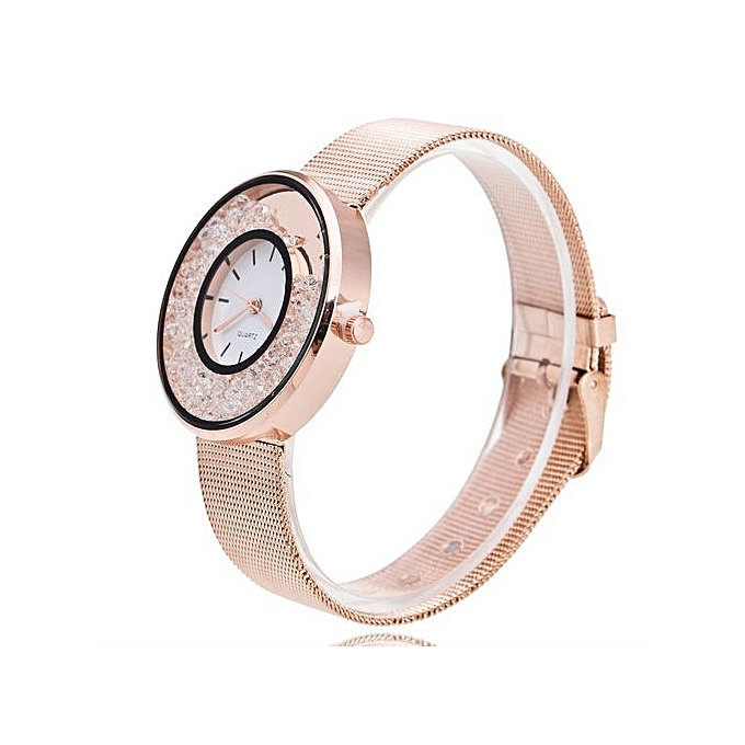 Watch Lover's Quartz Analog Wrist Delicate Alloy Watch Luxury Business Watches RG-Rose Gold
