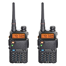 Baofeng Handheld Walkie Talkie Uhf Vhf Radio Station UV-5R 1 set 2 pcs