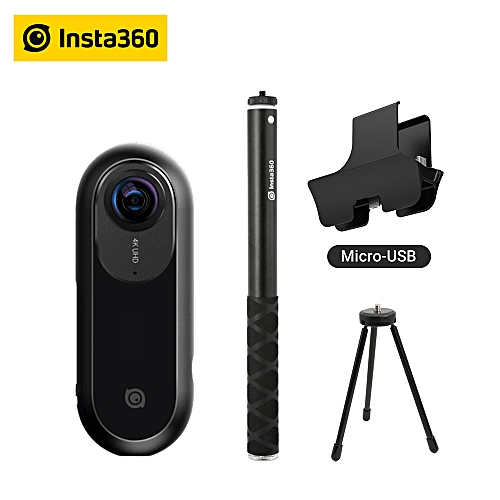 Insta360 ONE 360 Camera, Sports and Action Video Camera, VR Camera, 24MP  (7K) Photos, 4K Videos for iPhone and Android phone ABDSW