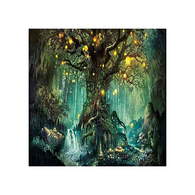 ca6b18839c683 5D Diamond Painting Kits Full Drill Embroidery Cross Stitch Diy Art Craft  Home Wall Decor,Life Tree (12X12 Inch)